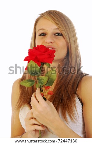 Red roses for all - stock photo