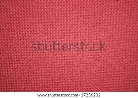 red rough textile texture - stock photo