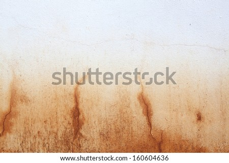 Red rust grunge old cement weathered wall background. - stock photo