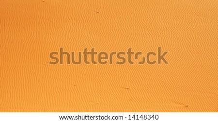 Red sands desert near Riyadh (Saudi Arabia) - stock photo