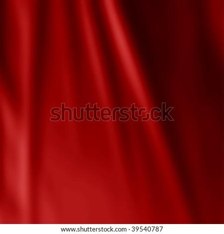 red satin - stock photo