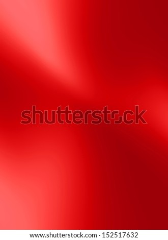 red satin or silk texture with some smooth folds in it - stock photo