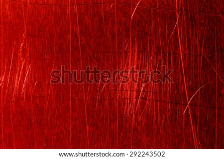 Red scratch abstract background - stock photo