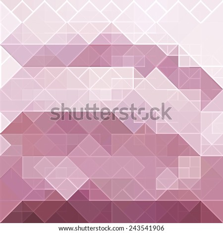 red square background - stock photo