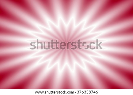 Red star - stock photo