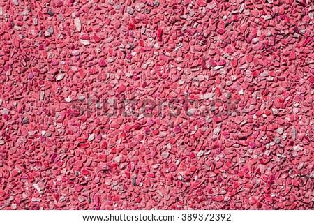 Red  stone wall seamless pattern - stock photo