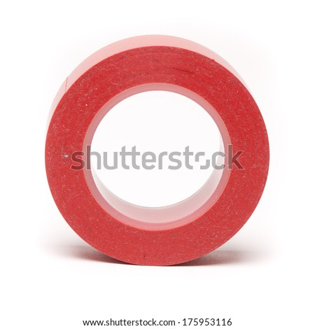 Red tape.  - stock photo