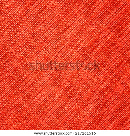 Red Textile Background Square/Red Textile Background - stock photo