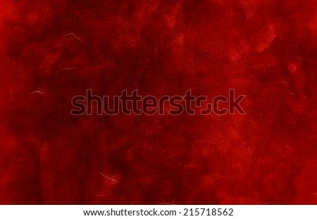 red textured wall as background for your project - stock photo