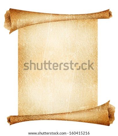 red theatre curtain with a spotlight on it - stock photo