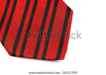 Red tie - stock photo