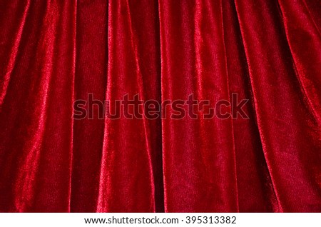 red velvet - stock photo