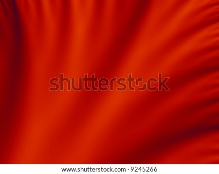 Red velvet abstract background - stock photo
