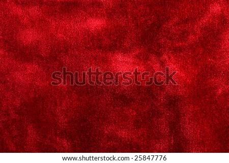 red velvet texture - stock photo
