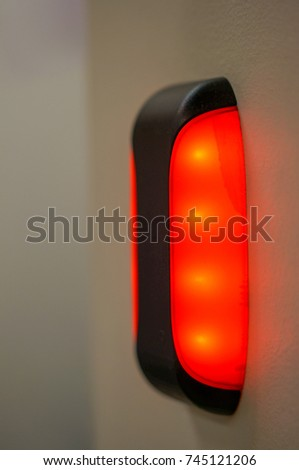 Fire Alarm Strobe Light Stock Images Royalty Free Images