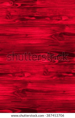 red wooden texture  - seamless abstract background - stock photo