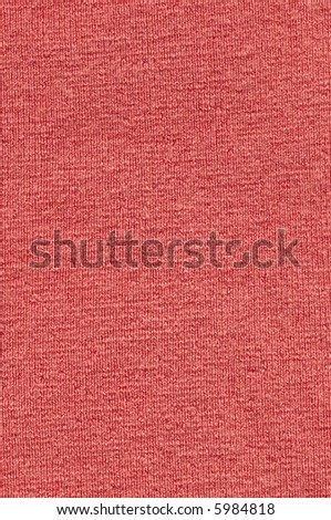 Red Wool cloth - stock photo