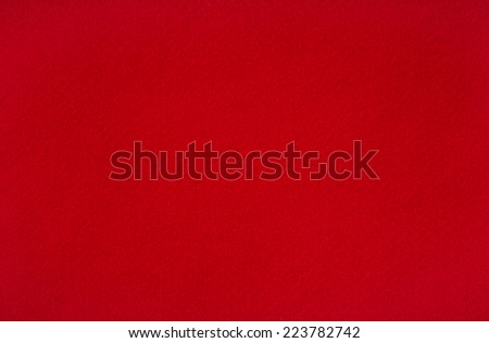 Red woolen baize (background) - stock photo