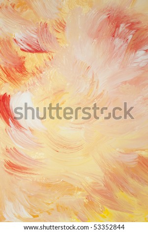 Red, yellow and white background abstraction - stock photo