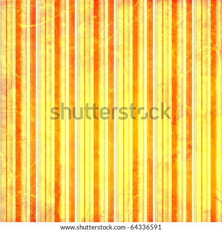 Red, yellow and white  stripes shabby background