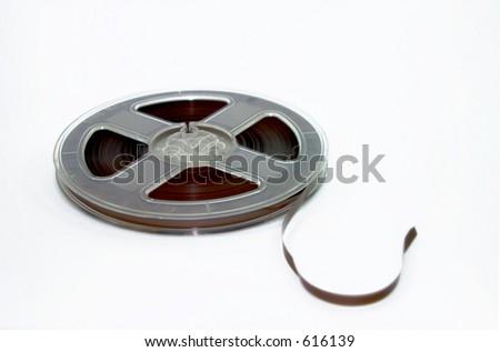 Reel Tape - stock photo