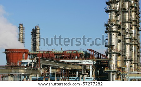 refinery factory