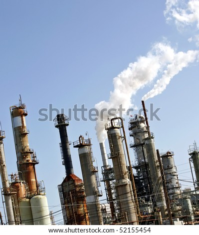 Refinery plant, oil industry (2)