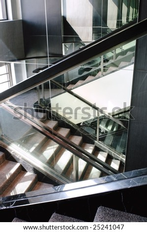 reflection of steps