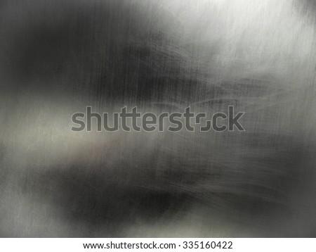 Reflective aluminium metal texture background - stock photo