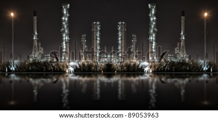 Reflex from oil refinery plant