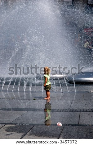refreshing - stock photo