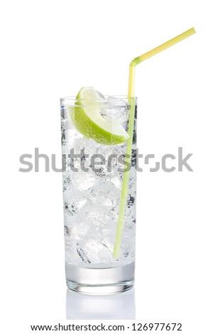 Refreshing drink - stock photo