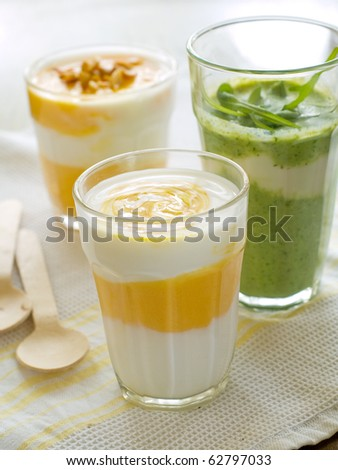 Refreshing, healthy vegetable and fruit juice cocktails.