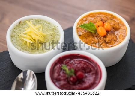 Green Pork Curry Thai Cuisine Stock Photo 418272091 - Shutterstock