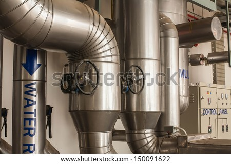 Refrigeration compressors.  - stock photo