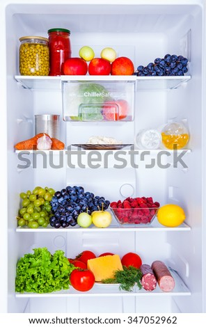 refrigerator isolated on a white background