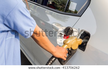 Refueling cars