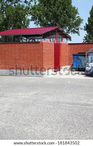 refuse bin  - stock photo