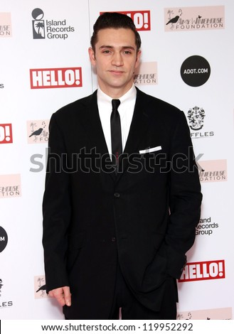 Reg Traviss arriving at the The Amy Winehouse foundation ball held at the Dorchester hotel, London. 20/11/2012 Picture by: Henry Harris