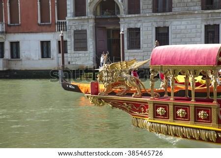 Regatta Storica, Venice,  Italy - stock photo