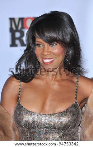 Regina King at Movies Rock: A Celebration of Music in Film at the Kodak Theatre, Hollywood. December 2, 2007  Los Angeles, CA Picture: Paul Smith / Featureflash