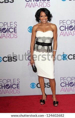 Regina King at the 2013 People's Choice Awards Arrivals, Nokia Theater, Los Angeles, CA 01-09-13