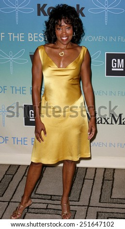 Regina King attends Women In Film Presents The 2007 Crystal and Lucy Awards held at the Beverly Hilton Hotel in Beverly Hills, California, California, on June 14, 2006. - stock photo