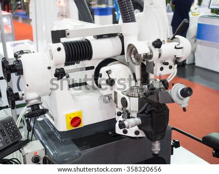 regrinding drill after use by high precision machine