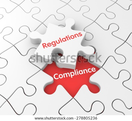 Regulations and Compliance - stock photo