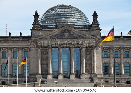 Reichstag Berlin - stock photo