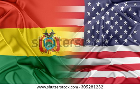 Relations between two countries. USA and Bolivia