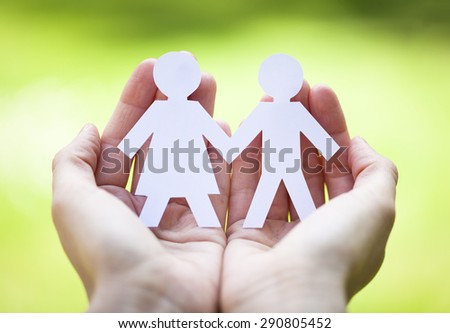 relationship concept - stock photo