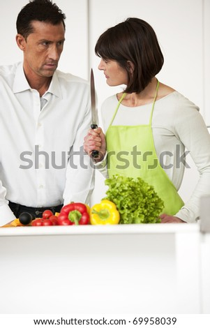 Relationship Problems - stock photo