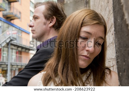 Relationship Rejection - stock photo